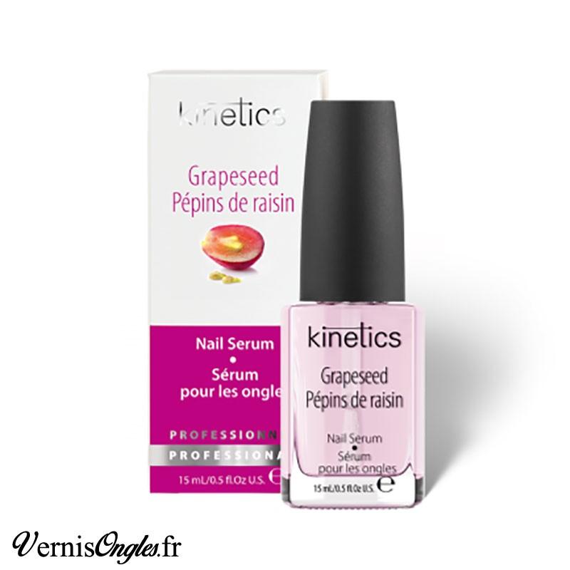 Sérum pour les ongles aux pépins de raisin de la marque Kinetics.