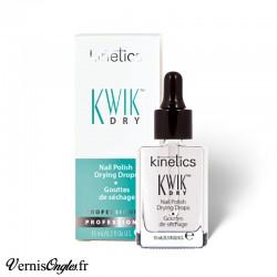 Gouttes de séchage Kwik Dry de la marque Kinetics.