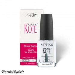 Top coat Kwik Kote de la marque Kinetics.
