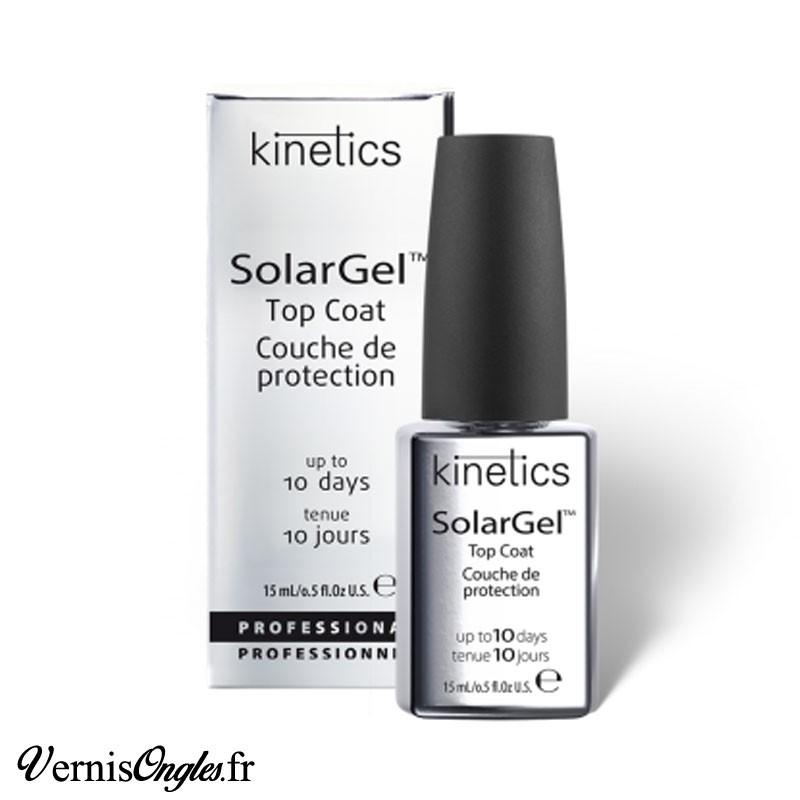 Top coat Solargel de la marque Kinetics.