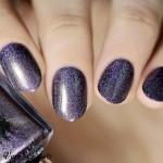 Trousse à pois pour maquillage ou accessoires nail art