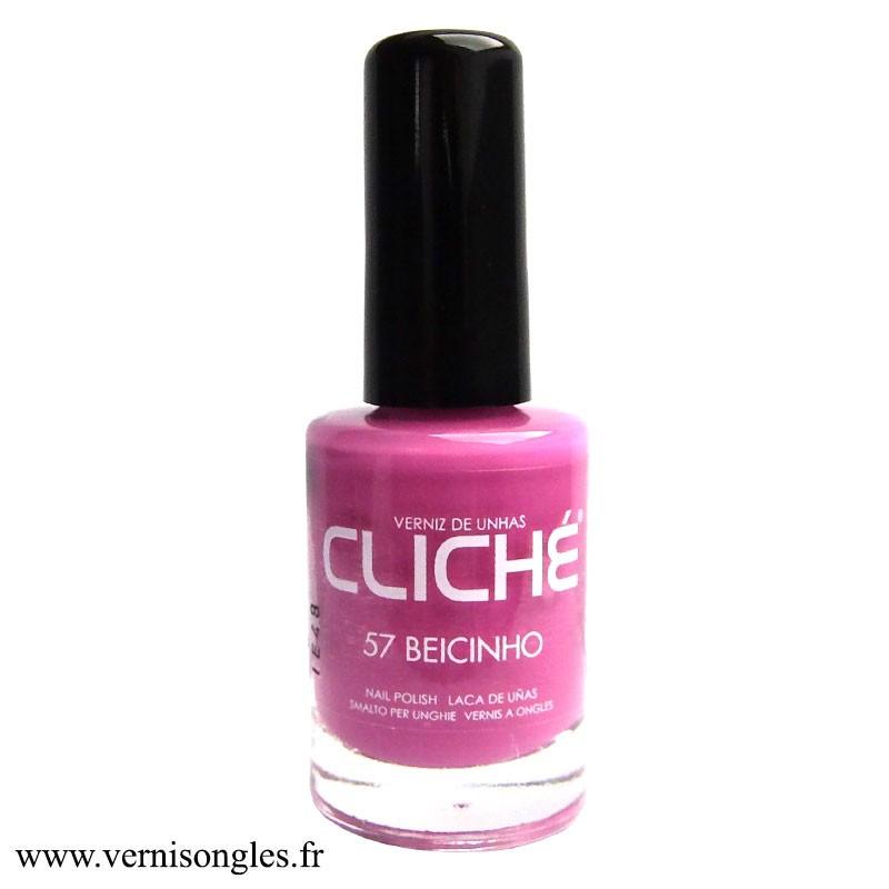 Vernis à ongles Beicinho de la marque Cliché.