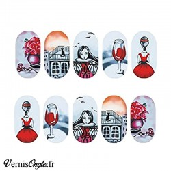 water decals romantique
