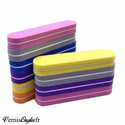 1 Bloc mini polissoir couleur aléatoire. Grain 100x180