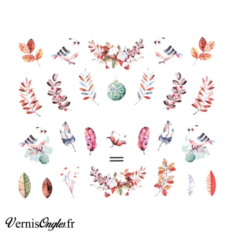 water decals motifs divers