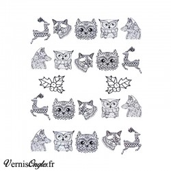 water decals animaux