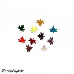Paillettes feuilles d'érable