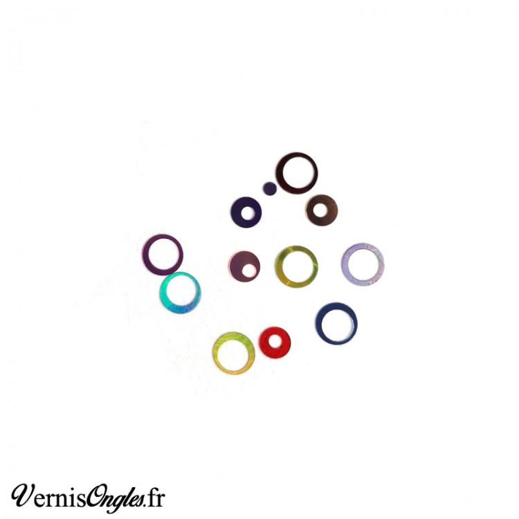 Paillettes cercles