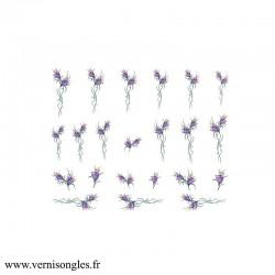 Wate decals fleurs