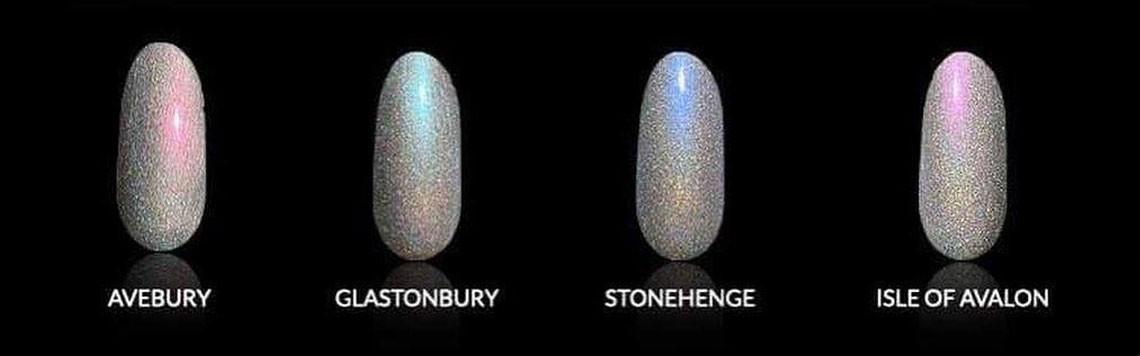 Vernis à ongles collection Mystical Places de la marque A England.